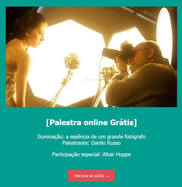 Palestra grátis com Danilo Russo sobre iluminação
