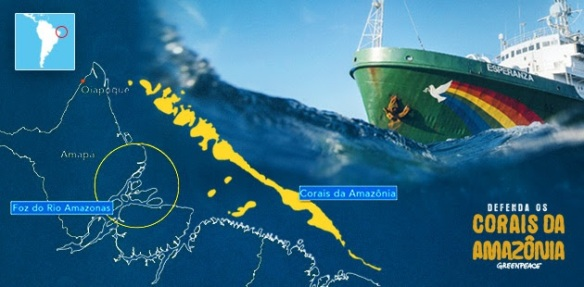 Navio Esperanza do Greenpeace