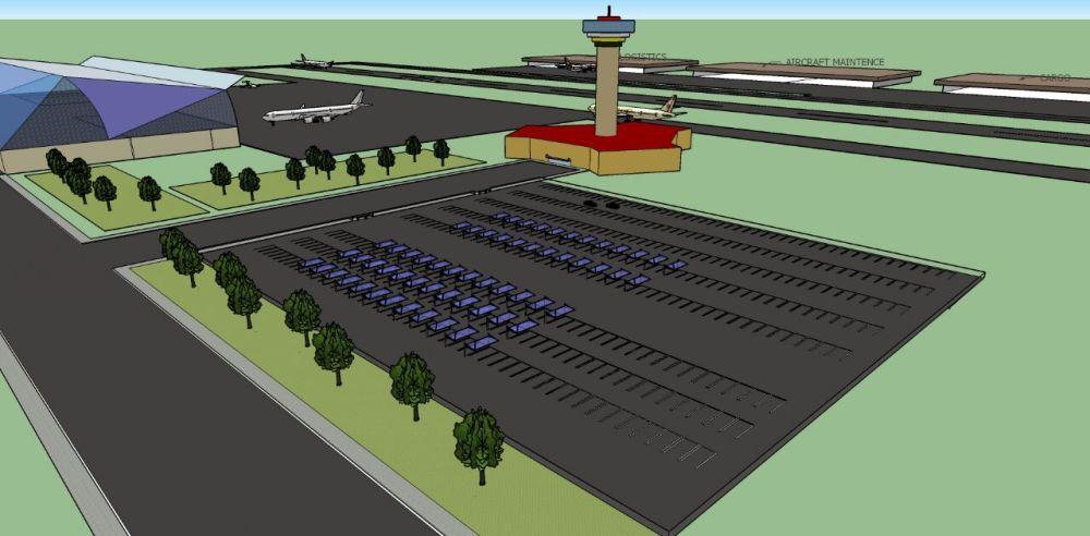 Projeto técnico do Aeroporto Metropolitano da Costa Verde e Mar