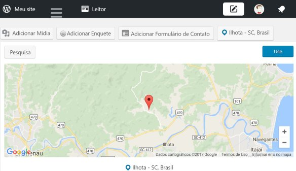 Ilhota Google Maps