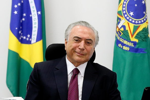 Michel Temer é contra os  jornalistas ao Palácio do Planalto