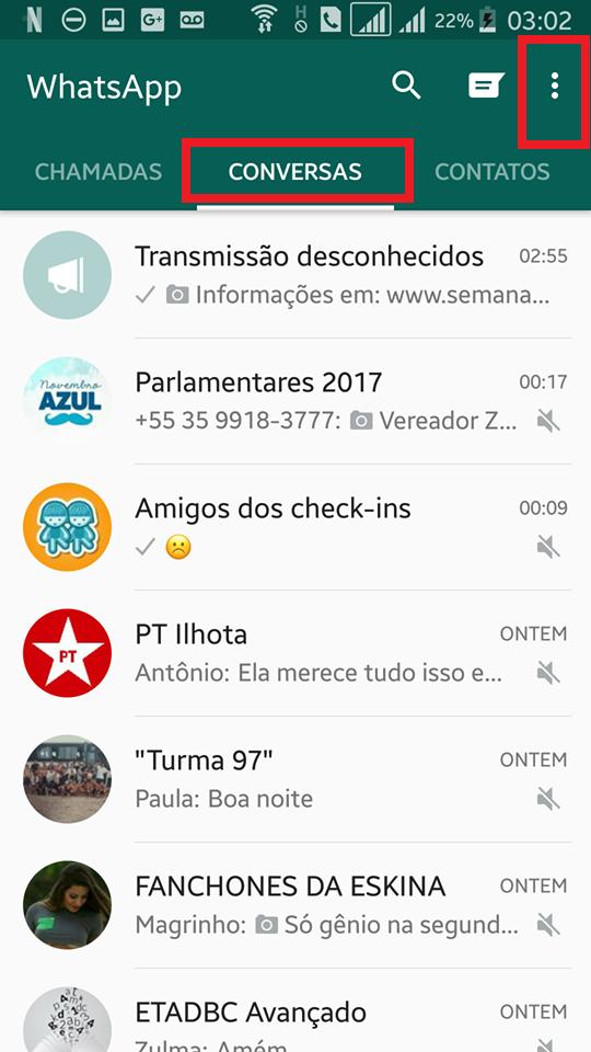 Tutorial WhatsApp dcvitti - Passo 1