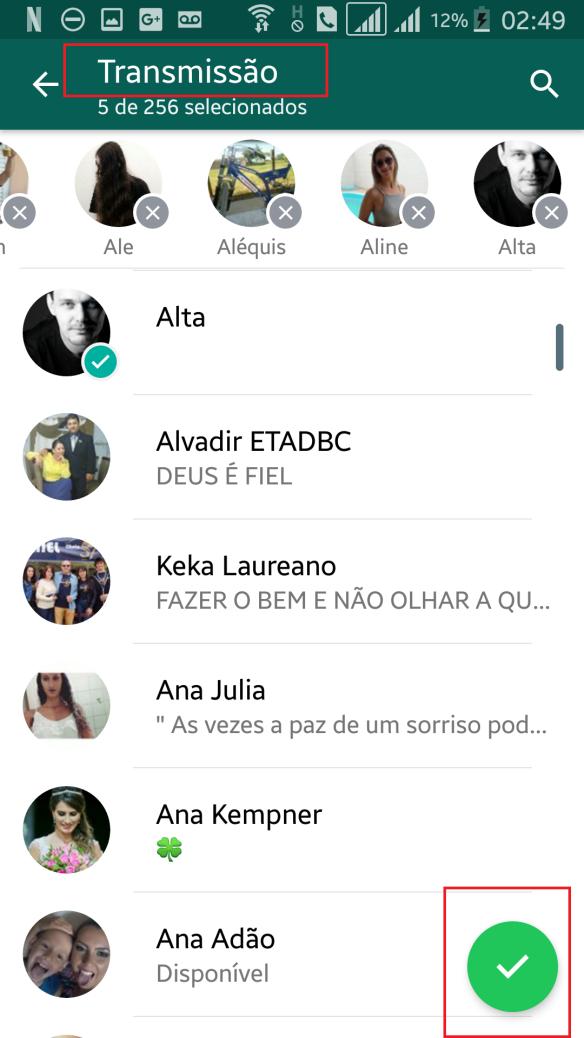 Tutorial WhatsApp dcvitti - Passo 3