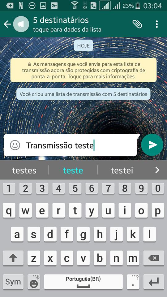 Tutorial WhatsApp dcvitti - Passo 4