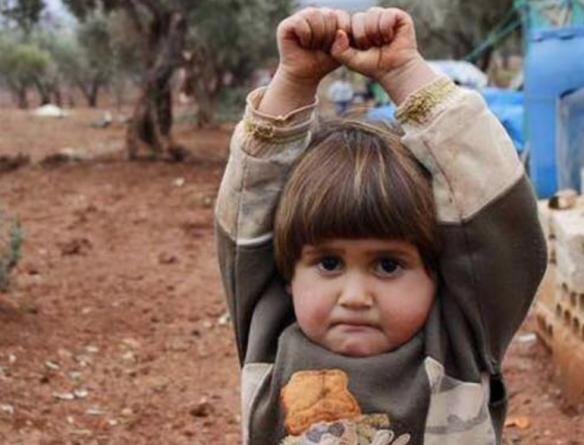 Crianças refugiadas da Síria