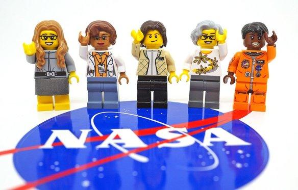 Lego mulheres da Nasa
