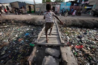 Pobreza e poluição