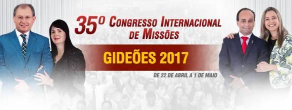 Congresso dos Gideões Missionários 2017