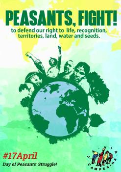 Defesa dos direitos dos camponeses e dos trabalhadores rurais