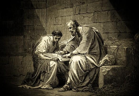 Apóstolo Paulo e Timóteo