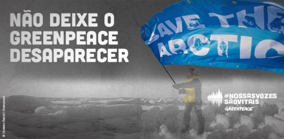Greenpeace corre o risco de ser calado