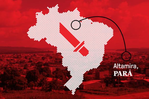A cidade de Altamira, no Pará, lidera o ranking dos municípios mais violentos do Brasil