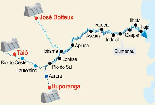 Barragens do Vale do Itajaí