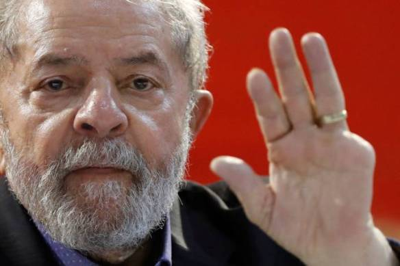 Lula no congresso do PT