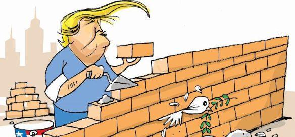O muro de Trump contra América Latina