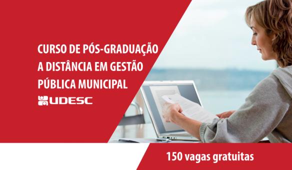 Pós-graduação EaD em Gestão Pública Municipal