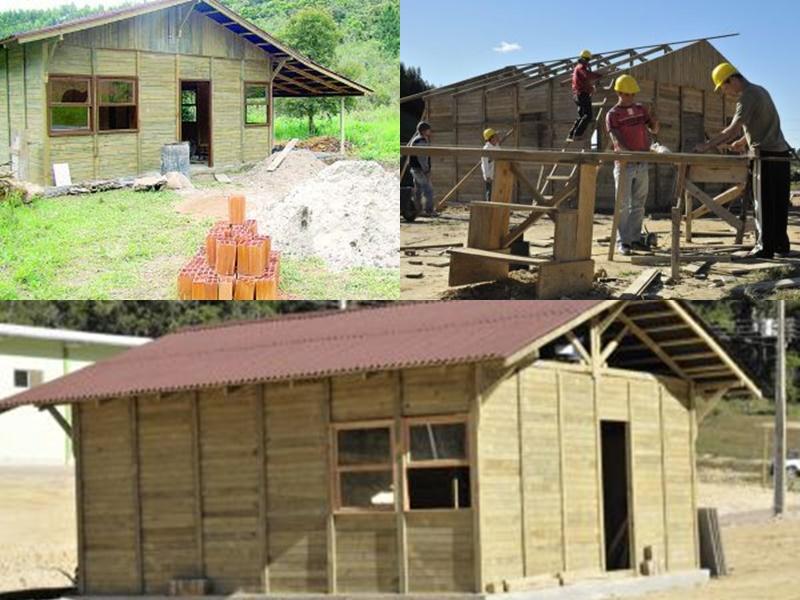 Casa da Cohab em Ilhota