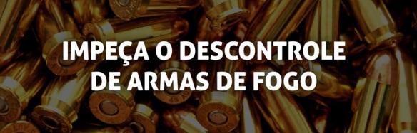 Impeça o descontrole de armas de fogo!