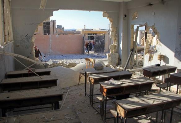 Os crimes de guerra cometidos na Síria