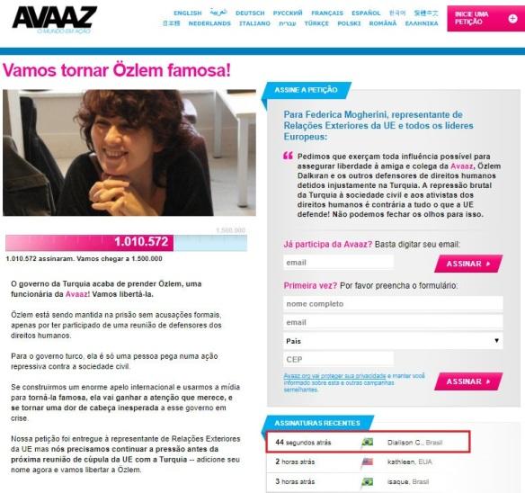Avaaz Özlem