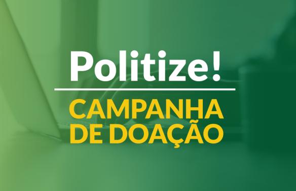 Campanha de doação Politize