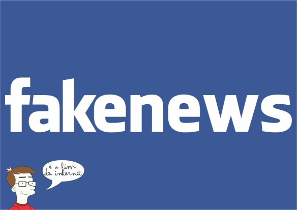 FakeNews - Art by: #DialisonCleberVitti