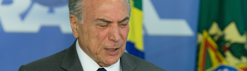 Michel Temer sofre