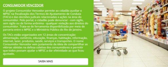 Projeto Consumidor Vencedor