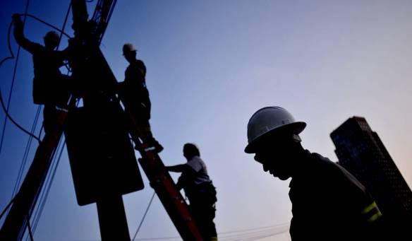 Trabalhador do setor elétrico