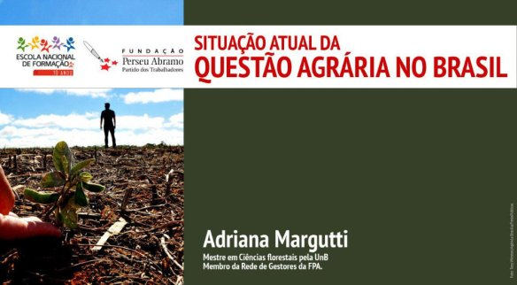 A situação atual da questão agrária no Brasil