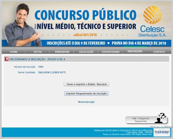 Concurso público Celesc