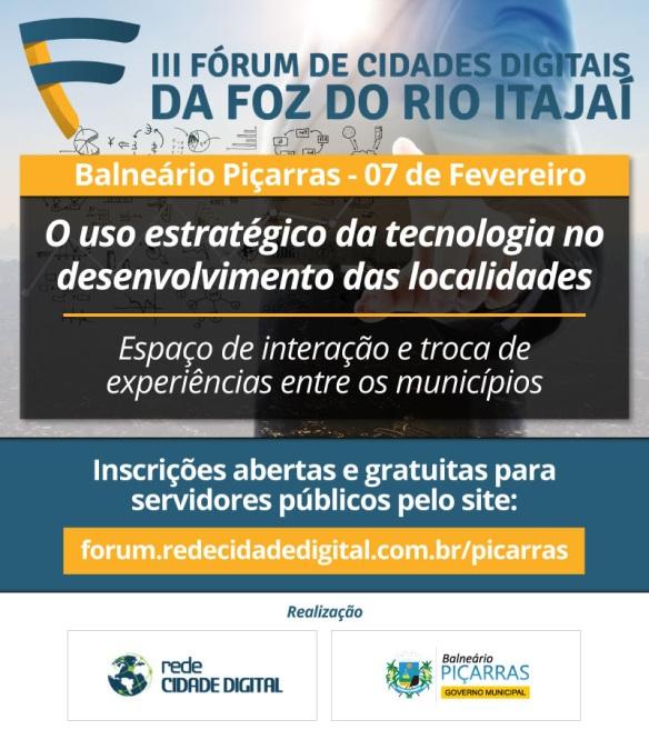 III Fórum de Cidades Digitais em Piçarras