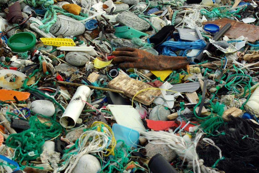 Lixo marinho