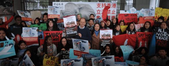 fechado o maior mercado de marfim