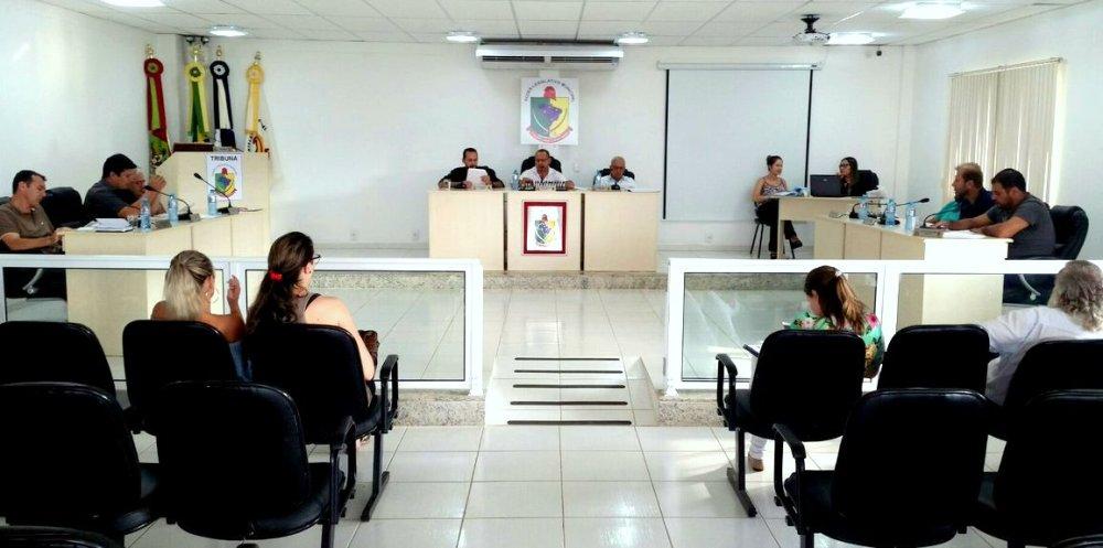 Plenário da Câmara Municipal de Vereadores de Ilhota