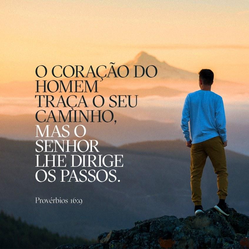Provérbios 16:9