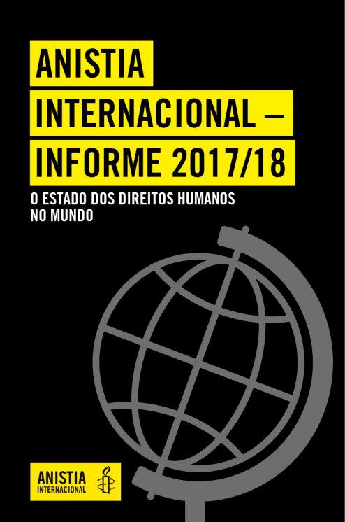 Relatório anual da Anistia Internacional