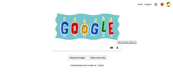 Google no aniversário de #DialisonCleberVitti #28022018