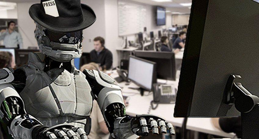 Primeiro robô-jornalista