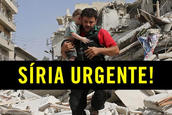 Um massacre está acontecendo na Síria!