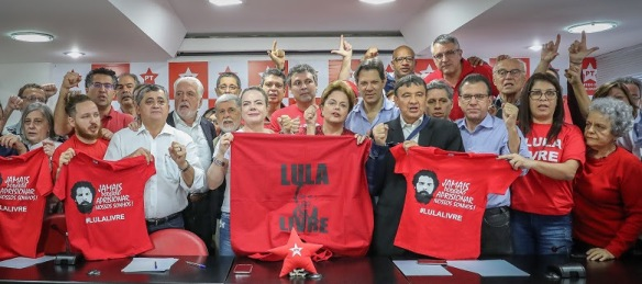 Dia de luta pelo Brasil e por Lula Livre
