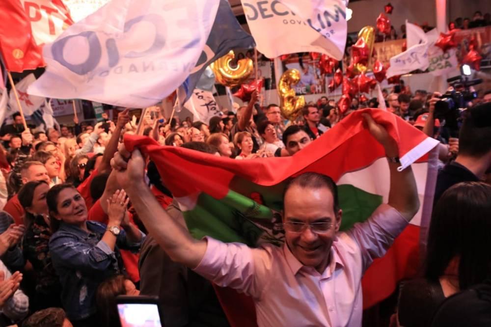 Décio Lima é o candidato ao governo pelo PT Santa Catarina