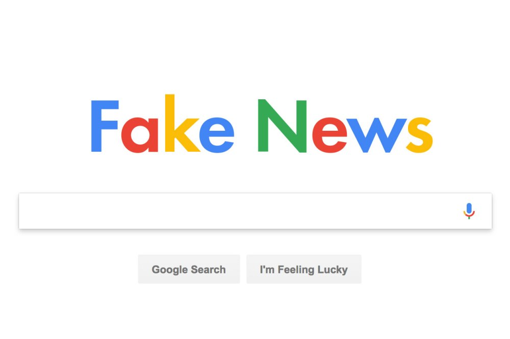 FakeNews Google