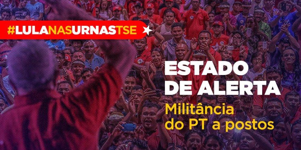 #LulaNasUrnasTSE