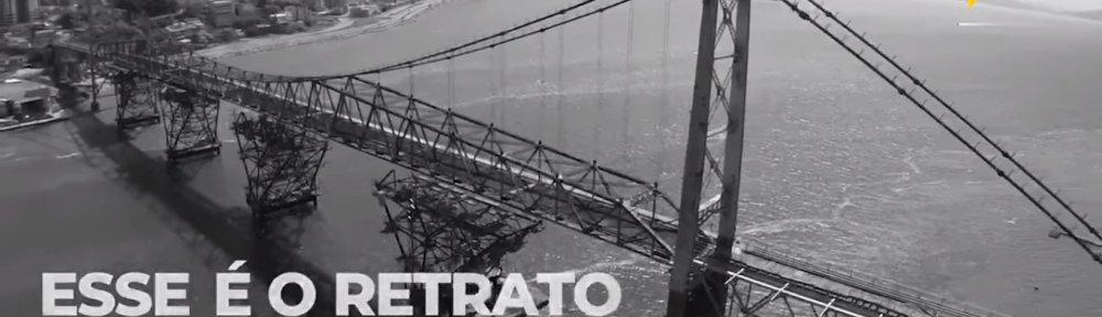 O descaso com a Ponte Hercílio Luz