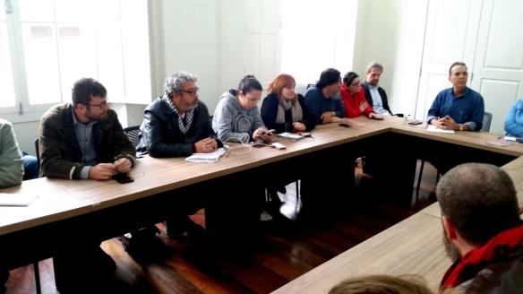 Reunião da Executiva Estadual do PT SC