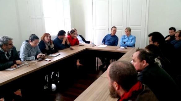 Reunião da Executiva Estadual do PT SC2