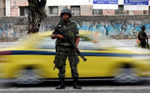 Polícia sob o mandato do Exército