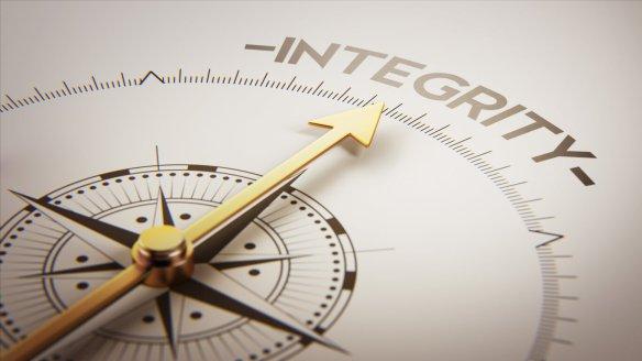 A falta de integridade