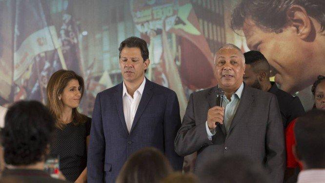 Fernando Haddad em encontro com pastores evangélicos